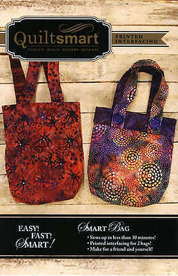 SMART BAG FUN PACK SEWING PATTERN, From Quiltsmart NEW