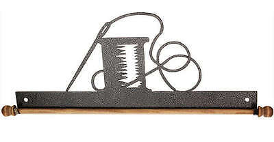 NEEDLE & THREAD, 16 INCH QUILT HANGER WITH DOWEL ROD, By Ackfeld Manufacturing