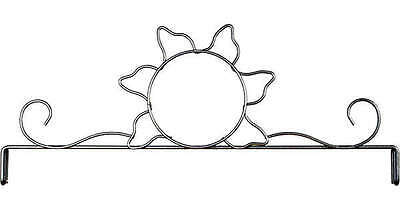SUNSHINE QUILT HEADER, 12 Inch Silver Finish By Ackfeld Manufacturing NEW
