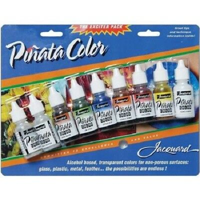 PINATA COLORS EXCITER PACK PAINT 9 PACK, Fabric Paints From Jacquard Products