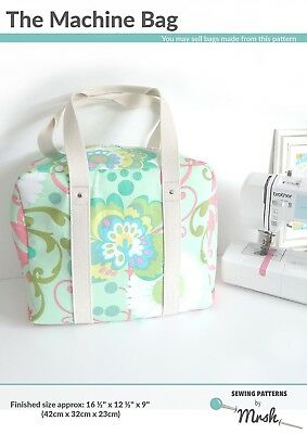 THE MACHINE BAG: SEWING PATTERN, From Sewing Patterns By Mrs. H NEW