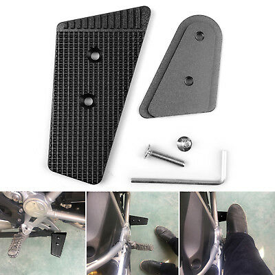 Rear Brake Lever Pedal Extension Enlarge pad For BMW R1200GS 2013-2017 Black BS2