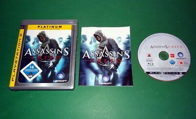 Assassin's Creed Platinum fuer Sony Playstation 3 PS3 mit Anleitung und OVP