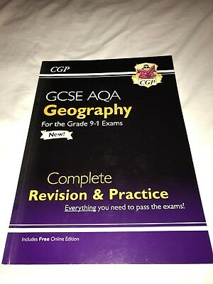 CGP GCSE Geography Revision Guide AQA - New grades 9-1 format