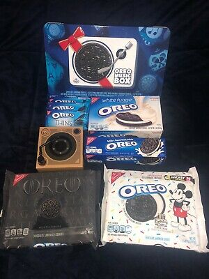 Oreo Music Box - Cookie Record Player - Collectible Holiday Gift Tin - SOLD OUT