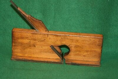 """Antique 19th Century Carriage Maker's Woodworking """"T"""" Plane  Inv#PS20"""