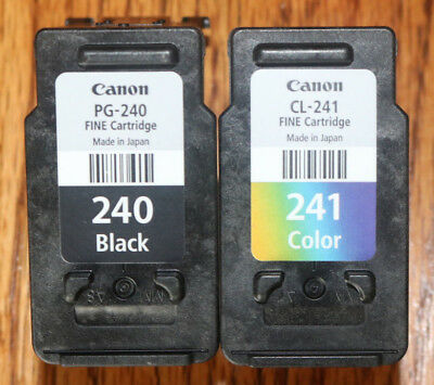 2 Used Empty Cartridges Canon Pg-240 Cl-241 Virgin Never Refilled