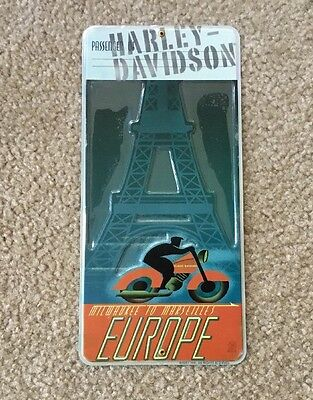 "Harley Davidson ""Europe"" Tin sign new"
