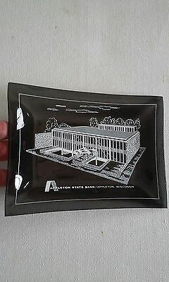 Vintage Advertising APPLETON STATE BANK Smoke Key Phone Candy Dish Ash Tray