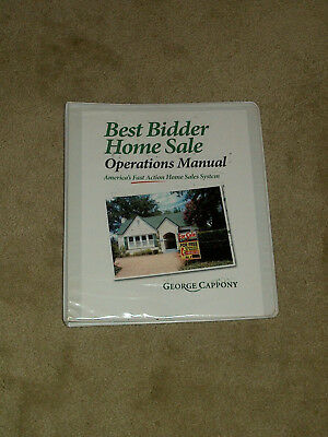 Best Bidder Home Sale Operations Manual - George Cappony