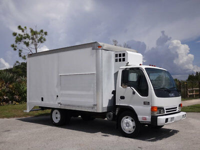 1999 GMC W4500 14` Box Truck 5.7L Gas V8 FL Truck Delivery Chevy NPR