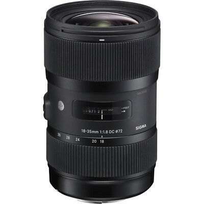 Sigma AF 18-35MM F/1.8 DC HSM ART Lens - Choose Canon, Nikon or Sony Mount
