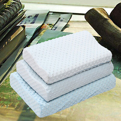 Memory Foam Bed Wedge Pillow Cushion Neck Back Support Washable Cover 3 Sizes