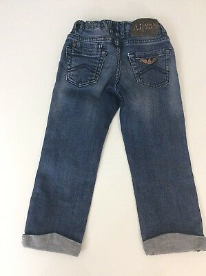 Armani Junior Jeans Age 2 Years 24 Months