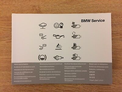 BMW SERVICE BOOK BRAND NEW GENUINE  F10 / F11 / F07 / F18- 5-Series