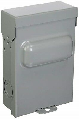 New Mars 60 Amp Non-Fused A/c Disconnect Shut-Off Box 1 Phase 240 Volt 83335