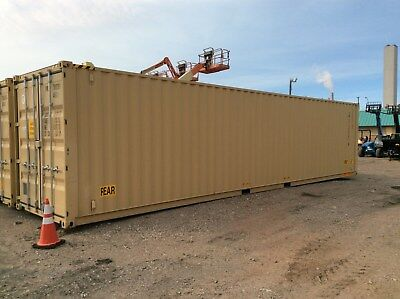 New CONEX 40' High Cube Container, 40CONT-DD-HC-OWL, SR
