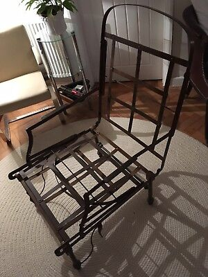 Traditional French Metal Campaign Chair