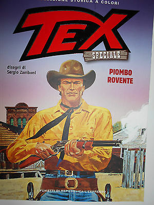 Tex Special Collection Storica A Colori - Lead Red-Hot