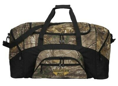 927c136982 Southern Miss REALTREE CAMO Duffle Bag Suitcase USM Duffel Gift Idea Him Men