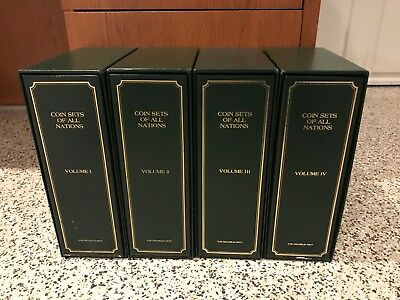 Franklin Mint Coin Sets of All Nations Vols 1-4 140 Card Sets including China