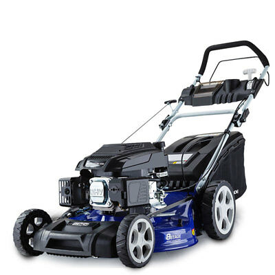 "Lawn Mower Self Propelled 21"" 220cc 4 Stroke Lawnmower Grass Catch"