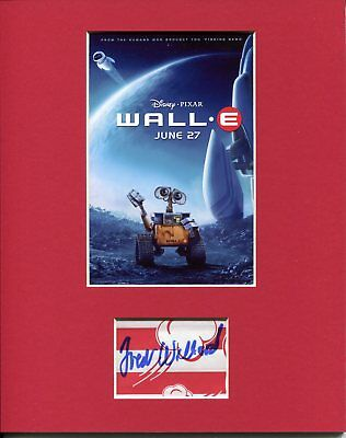 Fred Willard Disney Pixar Voice Wall-E Rare Signed Autograph Photo Display