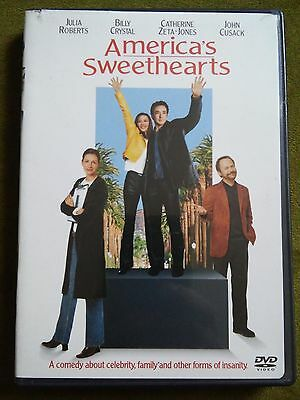 Americas Sweethearts (DVD, 2001) free shipping