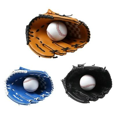 Professional Kids/Adult Baseball Glove Softball Mitts Left Hand Training Gloves
