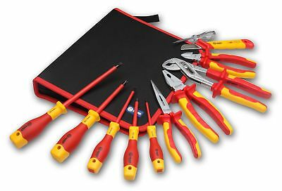 11 Piece Electrician Tool Set 1000V Insulated Tools Electricity Panel Repair Set