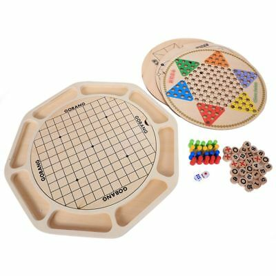 MWZ 16 kinds of games Multifunction Chinese checkers Flying animal checker Sn N2