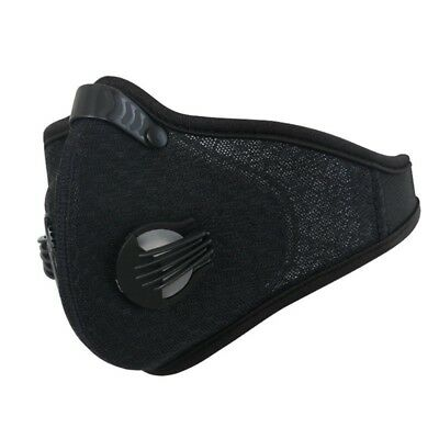Mask Breathable Filtration ExhaustGas Anti Pollen Allergy for Running  #NP5