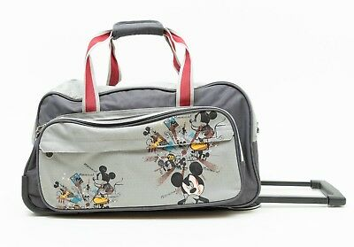 Mickey Mouse Disney Luggage Rolling Duffle Bag Weekend Travel