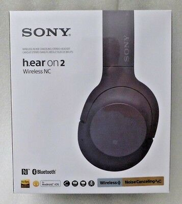 8d626a9448d SONY H.EAR ON 2 Wireless Hi-Res Noise Cancelling Headphones WH-H900N ...