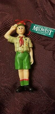 Boy Scout Christmas Ornament, Midwest Products