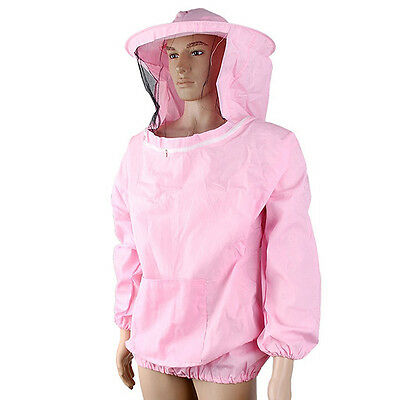 Beekeeping Jacket Veil Bee Keeping Suit Hat Pull Over Smock Protective Tool ,fr