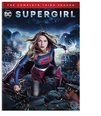 Supergirl: Complete Third Season DVD Brand new and sealed. 100% authentic USA