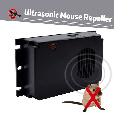 Home/Car Ultrasonic Mouse Mice Rat Pest Repeller Battery Powered Pest  new