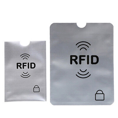 Case Cover Bank Protection Aluminium Rfid Card Holder Anti Thief Blocking AU