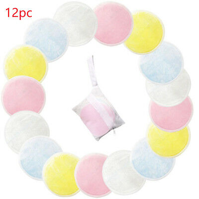 Face Wipes Facial Cleaner Bamboo Cotton Reusable Soft Round Makeup Remover Pad