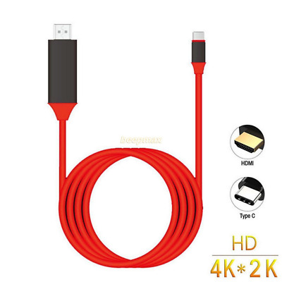 Type C USB-C to 4K HDMI HDTV Adapter Cable For Samsung Galaxy S8 Macbook Lot BD