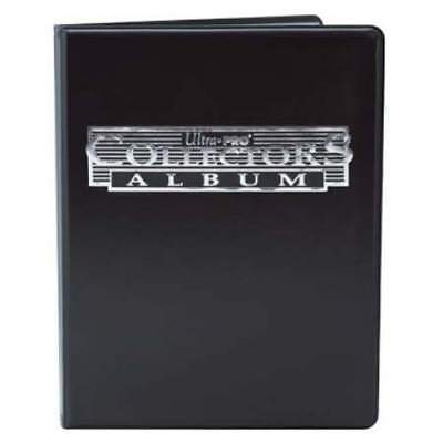 Portfolio A4 9-Pocket Black Collectors 10 Page up to 180 Cards - Ultra Pro 81366