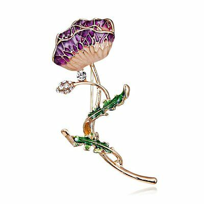 Elegant Flower Vintage Brooches for Women Brooch Pin Fashion Coat Jewelry NPEU