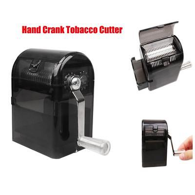 Herb Grinder Tobacco Cutter Hand Muller Shredder with Tobacco Storage Case AU