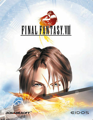 Final Fantasy VIII (PC, Eurobox) Originale Eurobox, super selten, RAR