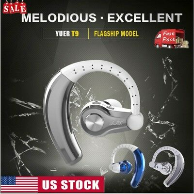 Bluetooth Wireless Headphones Stereo Earphones Earbud Headset For iPhone Samsung