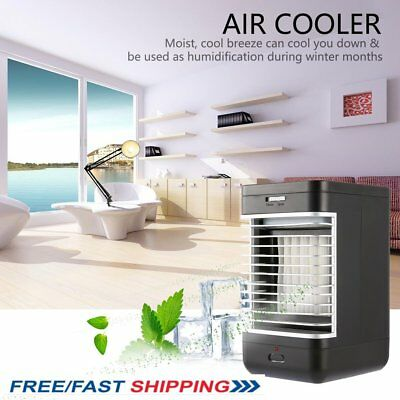 Portable Evaporative Home Office Air Cooler Fan Air Conditioner 2 Speed Fan GG