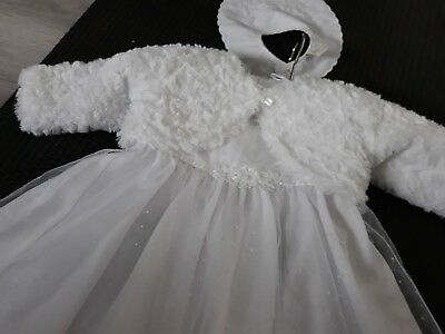 Baby girl christening outfit 3-6 months