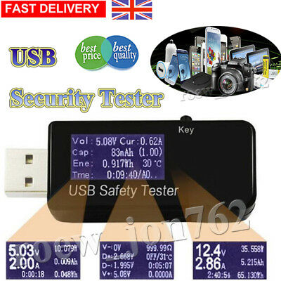 Super Interface USB Safety Security Tester Detecter Voltage Power Multimeter