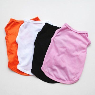 Pet Dog Vest Cute Small Puppy Cat Cotton Clothing Puppies Spring Summer ON1FZPG
